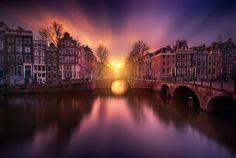 """The Gate"" by Iván Maigua on 500px ~ Amsterdam, the Netherlands"