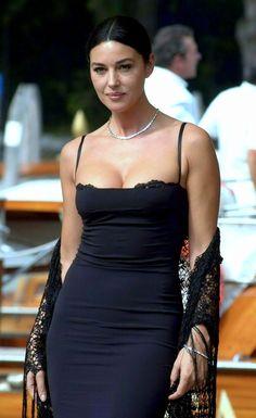 Monica Bellucci in a perfect dress