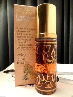 VINTAGE JOVAN FRANKINCENSE & MYRRH LARGE 2.0 FLUID OUNCE COLOGNE SPRAY IN BOX   eBay