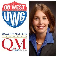 Congrats to Samantha Dukes of the Department of Management in the Richards College of Business, on her successful completion of the UWG QM Training Program! #UWG #qualitymatters #blazingtrailstonewpossibilities