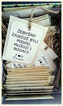 Zawieszki ślubne na Stylowi.pl Great Gatsby Wedding, Dream Wedding, Wedding Day, Wedding Crafts, Wedding Decorations, Polish Wedding, Happy Brithday, Wedding Accessories, Wedding Invitations