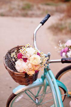 Bike - Flowers