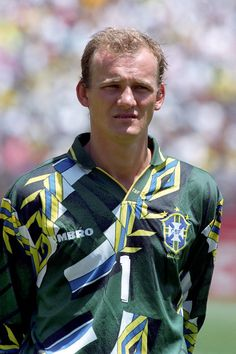 The Brilliant brazilian goal keeper TAFAREL in 94 USA world cup with your nice shirt!