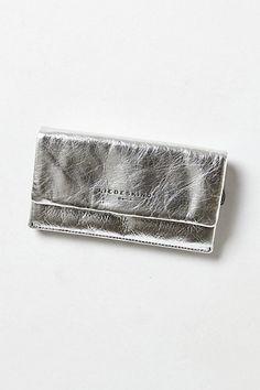 Shimmered Mercury Wallet - Anthropologie.com