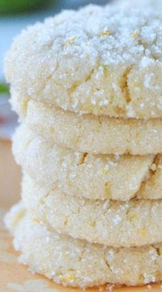 Orange, Lemon and Lime Citrus Cookies | Chewy, sugar coated cookies with orange, lemon and lime zest!