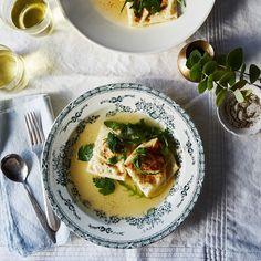 Baked Burrata Ravioli in Parmesan Broth Recipe on Food52 recipe on Food52