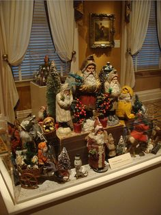 Vintage Santa Collection by Bluebird Becca, via Flickr