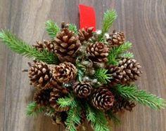 Bouquet de Cocotte/ Pine Cone bouquet by MinuCie on Etsy
