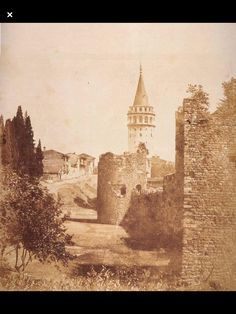 galata tower, karaköy, beyoğlu, istanbul, old istanbul