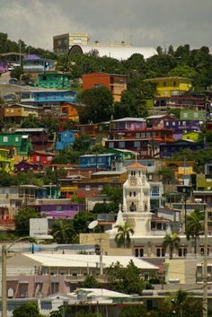 Yauco, Puerto Rico. ★ colorful neighborhood