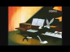 Its Bugs Bunny! He is playing the Hungarian Rhapsody No. 2 by, Franz Liszt. I do not own rights to anything. Play That Funky Music, Music For Kids, Looney Tunes, Ride Of The Valkyries, Hungarian Dance, Tom E Jerry, Music Activities, Preschool Music, Best Cartoons Ever