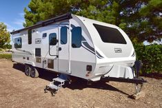 The Lance 2465 Travel Trailer is the perfect family trailer to take anywhere with you this Summer. Bath Travel, Rv Travel, Travel Trailers, Truck Bed Camper, Popup Camper, Rv Refrigerator, Fifth Wheel Campers, Portable Solar Panels, Fresh Water Tank