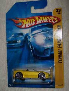 2006 First Editions -#33 Ferrari F430 Spider Yellow #2006-33 Collectible Collector Car Mattel Hot Wheels 1:64 Scale by Mattel. $7.95. 2006 First Editions -#33 Ferrari F430 Spider Yellow #2006-33 Collectible Collector Car Mattel Hot Wheels. 2006 First Editions -#33 Ferrari F430 Spider Yellow #2006-33 Collectible Collector Car Mattel Hot Wheels