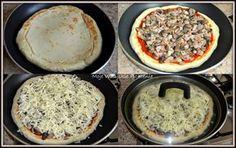 Ten przepis to dla mnie bomba! Rewelacyjna pizza na pysznym, puszystym, drożdżowym spodzie. W zależności od naszych upodobań przyrząd...
