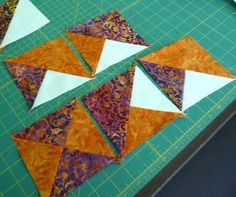 As I've mentioned in previous posts, my local quilt shop (A Nimble Thimble)has a once a month event called Saturday Sampler. Part of...