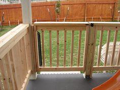 DIY WOODEN PORCH HANDRAIL IDEAS   Deck Railings, Porch Railings , Vinyl Railings, Balustrade, Aluminum ...