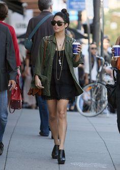 Vanessa hudgens street style.boho