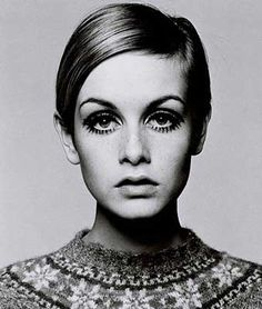 Amazing Shot of Twiggy. Think I spotted it in John Lewis last week.