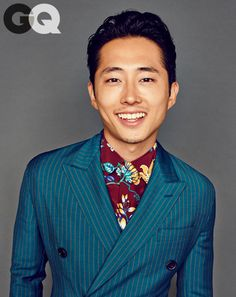 copilot style fashion 201403 1393950605386 the air tie steven yeun gq magazine march 2014 syle fashion walking dead 01 Steven Yeun, The Walking Dead, Dating A Model, Glenn Y Maggie, Fashion Walk, Men's Fashion, Gq Magazine, Best Mens Fashion, Costume