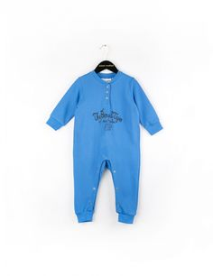 MINI RODINI TIGER ONESIE BLUE