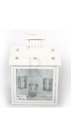 3pc Hanging Tea Light Lantern - 22232   Rosefields