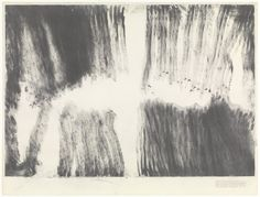 Robert Morris. Blind Time XIII. 1973. Graphite on paper. 89.2 x 117.2 cm