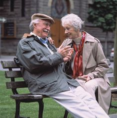 happy couple...young at heart