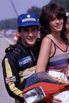 Just Ayrton Senna