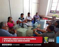 NONATO NOTÍCIAS: PREFEITURA  E EMBRAPA DISCUTEM  TRANSFERÊNCIA  DE ...