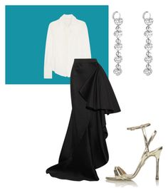 """""""cannes"""" by albertobuenor ❤ liked on Polyvore featuring Chloé, Lanvin, Chopard and Chelsea Paris"""