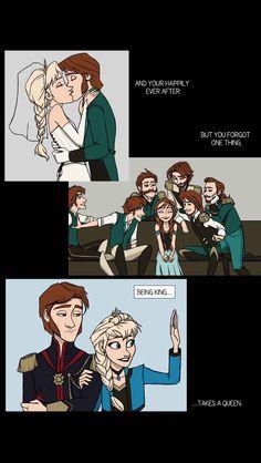 Hans x Elsa