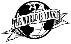Sticker Scarface The World is Yours - cm - € # Tattoo Designs Gangster Tattoos, Dope Tattoos, Black Tattoos, Body Art Tattoos, Tattoos For Guys, Forearm Tattoo Quotes, Arm Tattoos, Tattoo Design Drawings, Tattoo Sleeve Designs