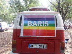 Peace in everywhere  #igneada #longoz #Anatolia bus clup #3.Balkan Bus Meeting