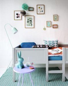 Mooie kleuren in de kinderkamer | tootsie-deco-fly-