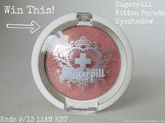 Sugarpill Cosmetics Kitten Parade Eyeshadow Giveaway!