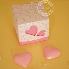 #heart box #partyfavor