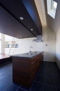 キッチンのようすです。 WORKS デザイン住宅.狭小住宅|大阪.兵庫.京都|建築家 Coo Planning