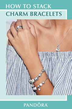Combine charms and stack bracelets to create a look that tells your unique story. Choose from hand-finished sterling silver charms in embellished patterns, shimmering hearts and styles that dangle. Build mom a stunningly beautiful charm bracelet at pandora.net