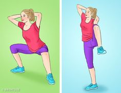 If you really want your butt to look more toned, you can participate in this interesting challenge with us. This proof of your desire to get a wonderful Butt consists of only 30 days Workout Plan. 30 Day Workout Plan, Workout Challenge, Toning Workouts, At Home Workouts, 100 Squats A Day, Running Day, Thigh Exercises, Belly Fat Workout, Yoga Lifestyle