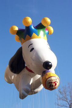Vintage 2000, Snoopy, Macy's Thanksgiving Day Parade, NYC, www.RevWill.com