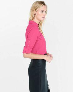 56c253c69422b Original Fit Convertible Sleeve Portofino Shirt