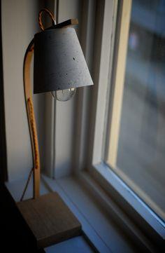 Oak | Concrete lamp | NH oslo #concrete, #lamp
