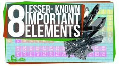 8 Lesser-Known Useful Elements Periodic Elements, Geography, Chemistry, Periodic Table, Science, History, Awesome, Youtube, Historia