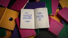 The Moleskine Coloured Planners Video: http://www.youtube.com/watch?v=7Q9XvlMITrQ  directed by Rogier Wieland  ANIMATION: Rogier Wieland Suus Hessling  EDITING & MUSIC: Rogier Wieland  THANKS TO: Danièle Knirim Katia Nicita Gregor van Egdom Mike van der Togt