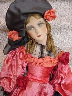 French boudoir doll.  Love the costume.