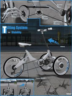 Triciclo concept #taobike