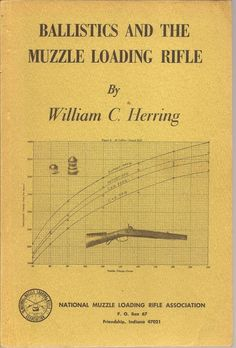 Ballistics and the Muzzle Loading Rifle by William C. Herring 1st Printing 1974