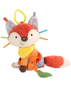 Skip Hop Bandana Buddies - Fox-Little hands stay active with this colorful character as baby explores patterns, textures and sounds. Ideal for fun at home or on-the go, this cute companion rattles, crinkles and has a soft bandana teether for multi-se Baby Activity Toys, Infant Activities, Bandana, Baby Play, Baby Toys, Toddler Toys, Bb Reborn, Friendly Fox, Teething Toys