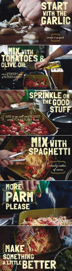 Farmers' Market Spaghetti~Fresh...simple...delicious!