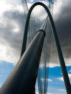 The Margaret Hunt Hill Bridge in Dallas